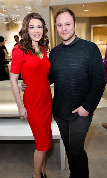 W/Nicholas Kirkwood | My fav shoe designer! | Saks | Bal Harbour | Feb 2013