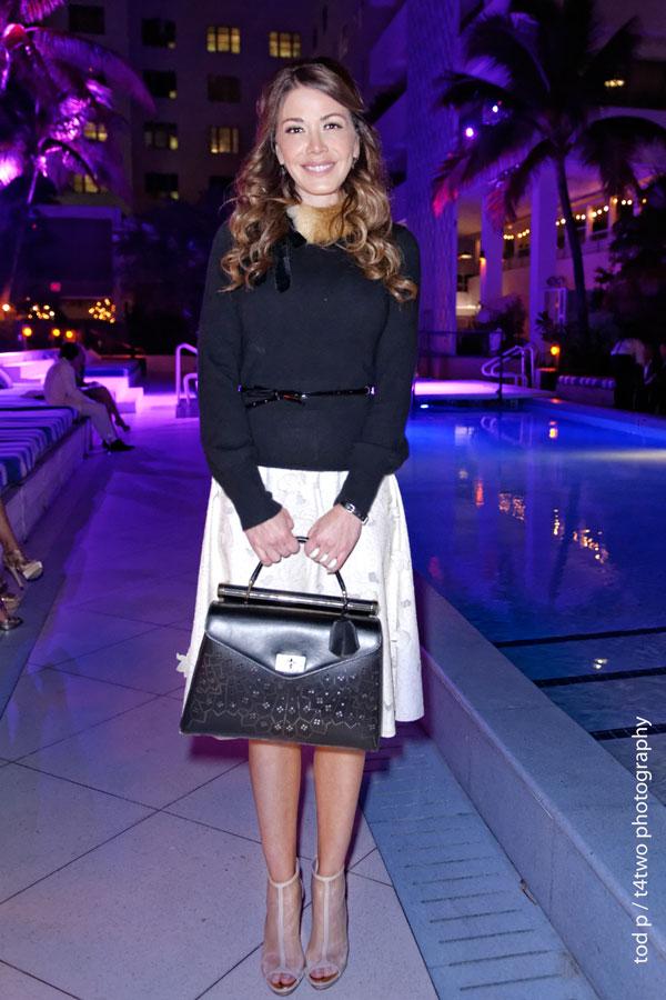 BCBG private fashion show | Soho House pool | Miami Beach | Dec 2013