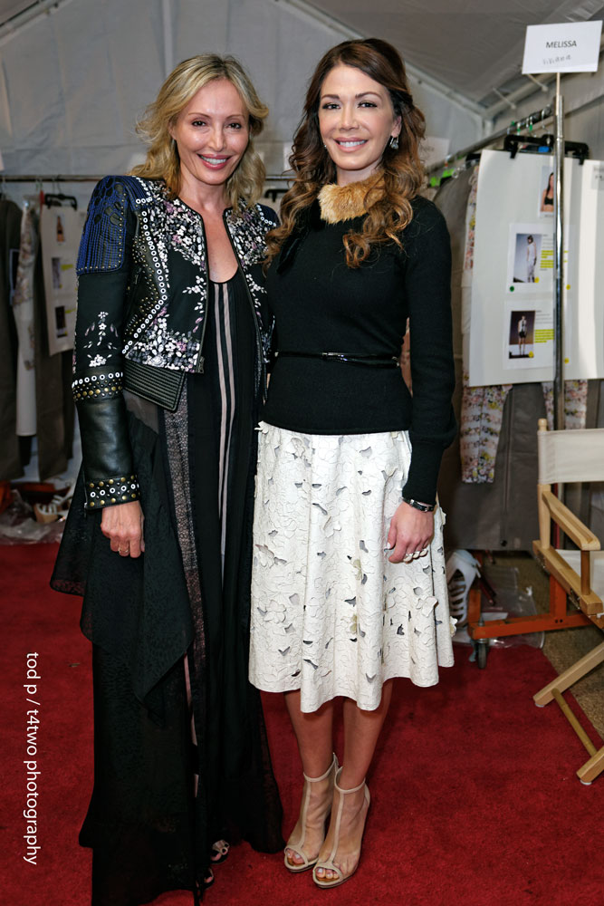 Behind the catwalk | w/Lubov Azria | BCBG Resort Collection 2014 | Private Fashion Show | Soho House | Miami Beach | Dec 2013