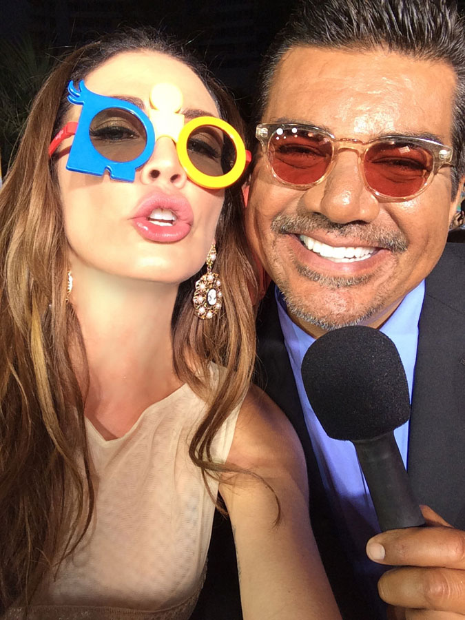 Selfie w/ George Lopez Rio 2 Premiere Miami Beach 2014