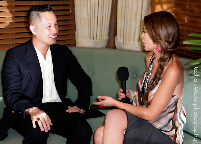 Interviewing Phillip Lim South Beach Miami 2014