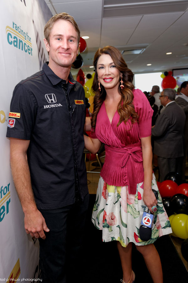 W/ Ryan Hunter-Reay | Indy 500 winner | 2014