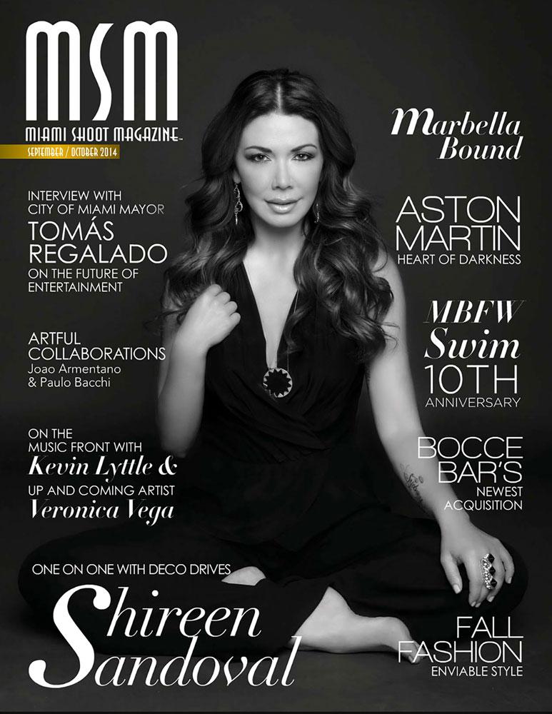 Miami Shoot Magazine | Sept/Oct Cover | Photo: Imani Ogden | 2014