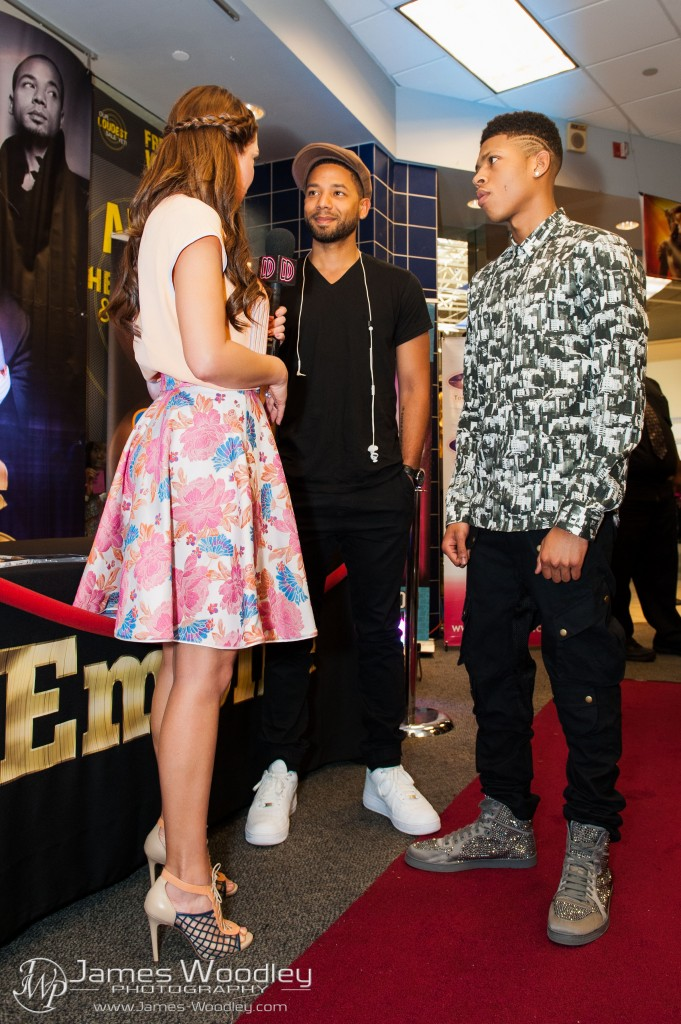 Empire, Soundtrack, Shireen Sandoval, BRYSHERE GRAY, JUSSIE SMOLLETT, Hakeem Lyon, Jamal Lyon, TV, Signing, Celebrity, WSVN, Miami, Coral Springs, Coral Square Mall, FYE, Shireen's Favorite Things, Top 3, James Woodley Photography, James Woodley, #jamesWphoto