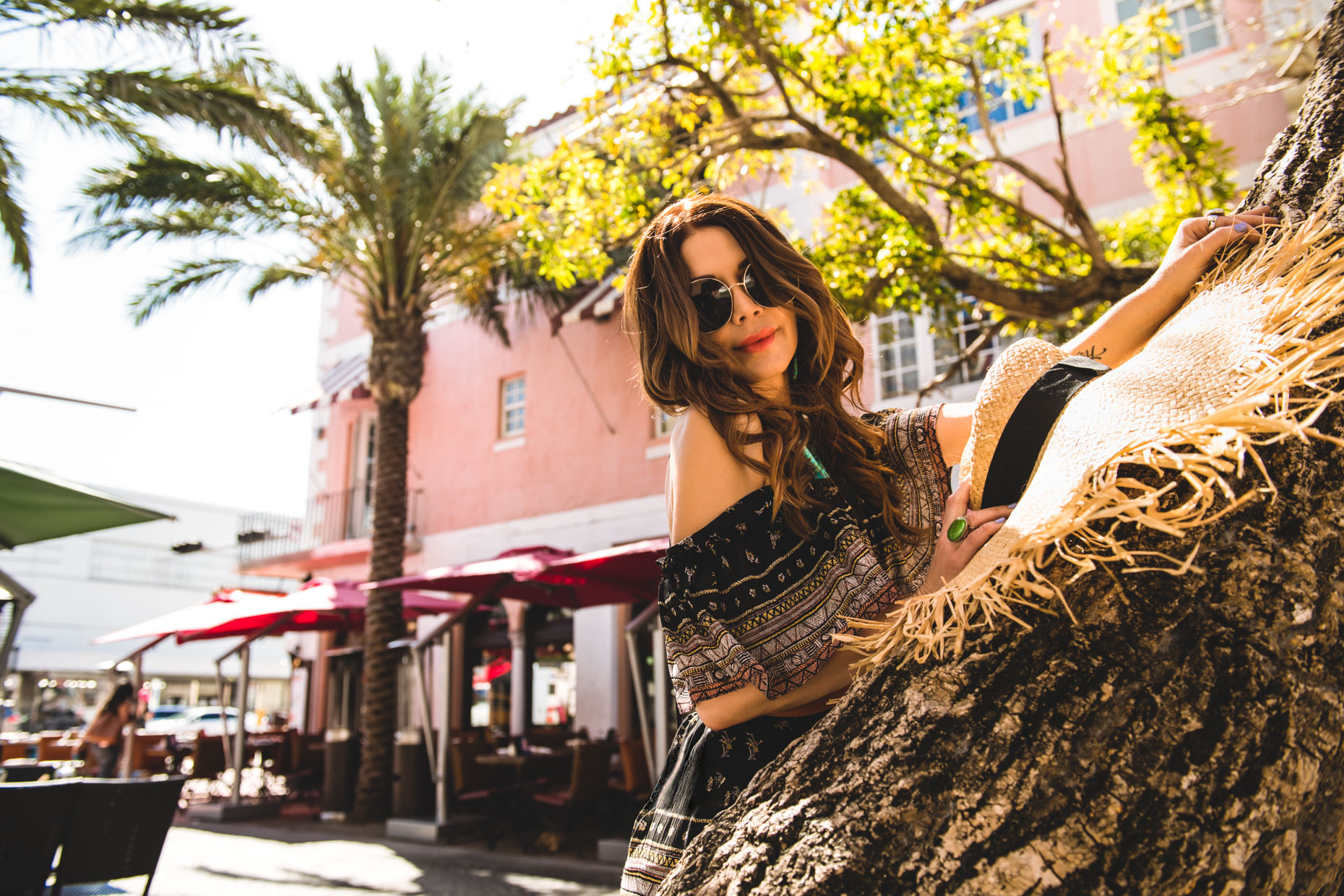 A Day on Espanola Way